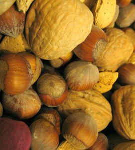 Nuts fornecem proteínas para vegetarianos e vegans